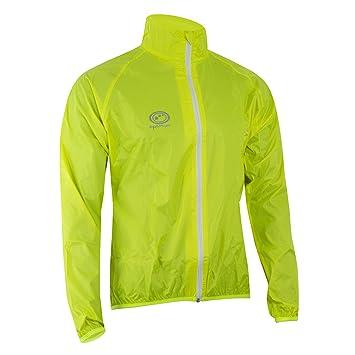 3c556a5b452 Optimum Men s Hawkley Cycling Rain Jacket  Amazon.co.uk  Sports ...