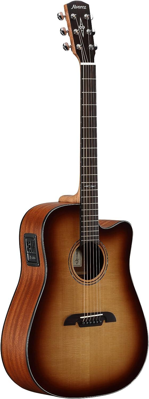 Alvarez ad60ceshb Guitarra Acústica Dreadnought Cutaway electrificada Sunburst Finish