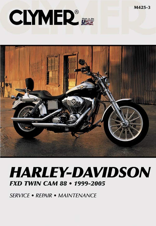 Amazon.com: Clymer Harley-Davidson FXD Twin Cam 88 (1999-2005) (53148):  Automotive