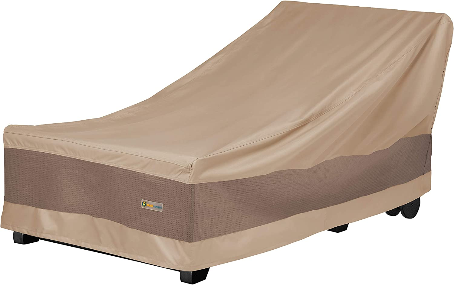 Duck Covers Elegant Patio Chaise Lounge Cover, 74-Inch