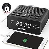 Boctop Digital LED Alarm Clock Radio with Sleep