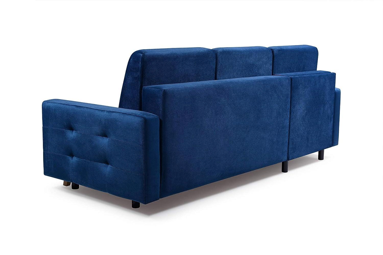 Amazon Com Vegas Futon Sectional Sofa Bed Queen Sleeper With