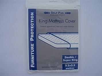 Cubierta para Colchón, Doble / King / SuperKing para Mudanza o Almacenamiento (
