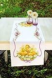 Los patos y las margaritas II-corredor de la tabla-Kit de bordado cruz puntada