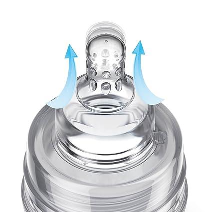 LOVI SUPERvent Medical+ - Biberón con tetina dinámica, 150 ml