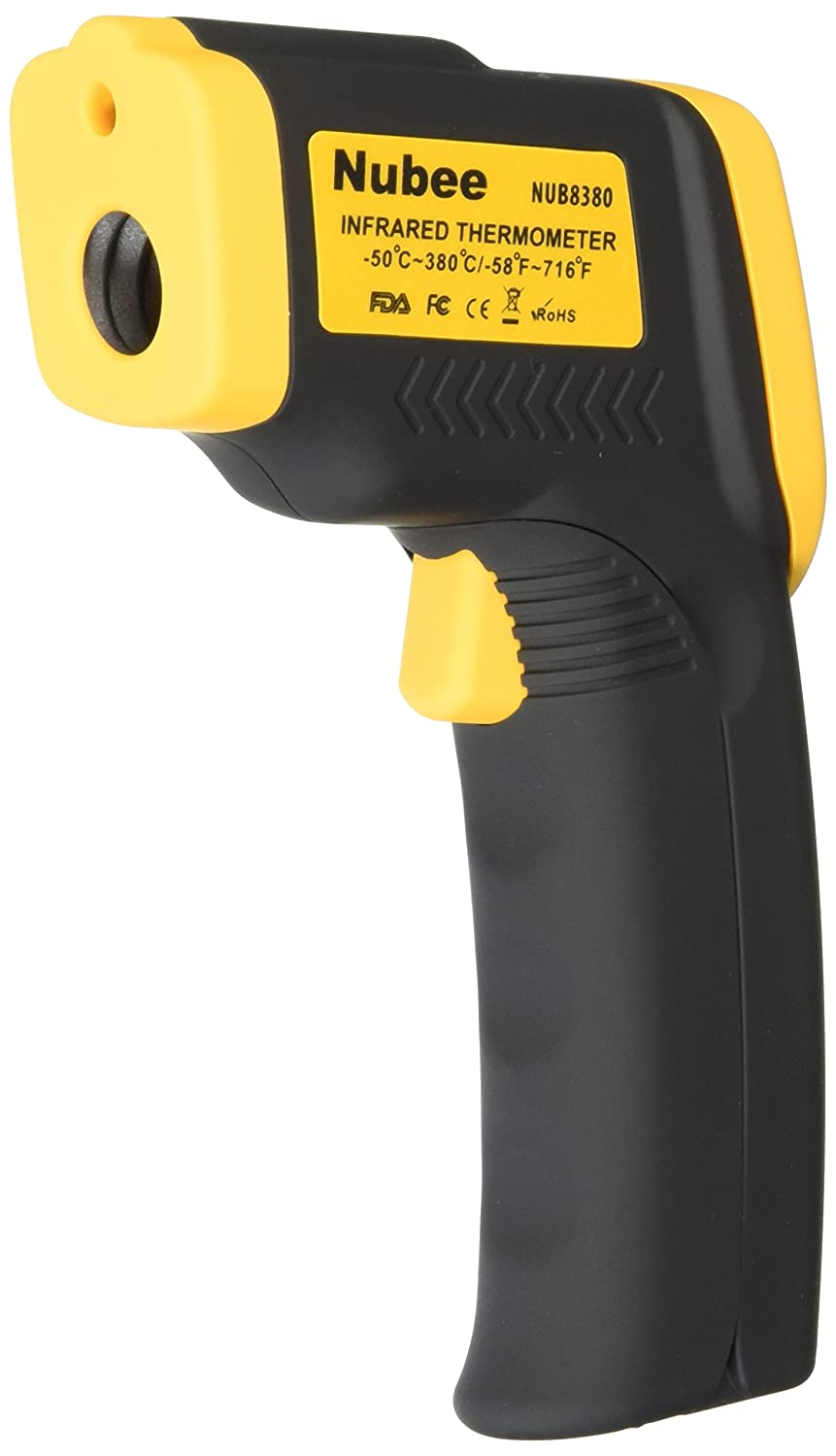 Nubee Temperature Gun Non-contact Infrared Thermometer w/Laser Sight