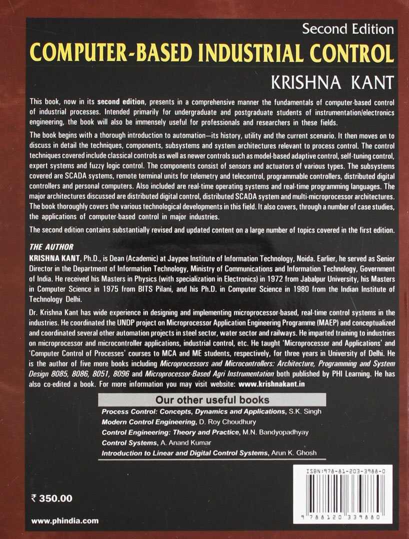 Computer-based industrial control: krishna kant: 9788120339880.