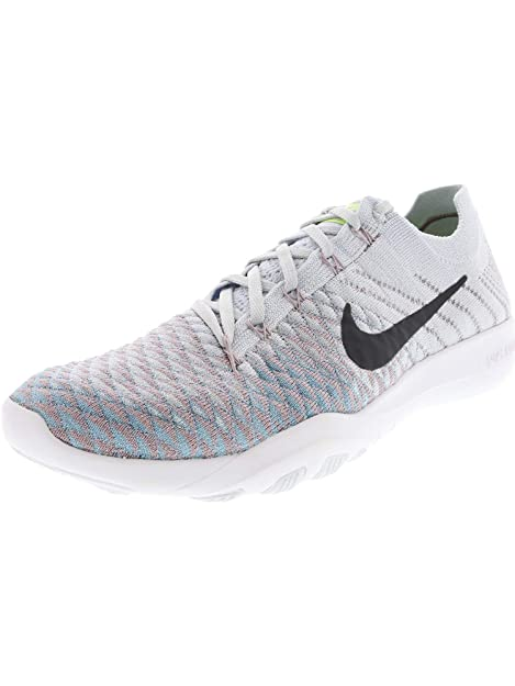 3c75133f5c07 Nike Women s Free Tr Flyknit 2 Pure Platinum Anthracite Ankle-High Fabric  Cross Trainer