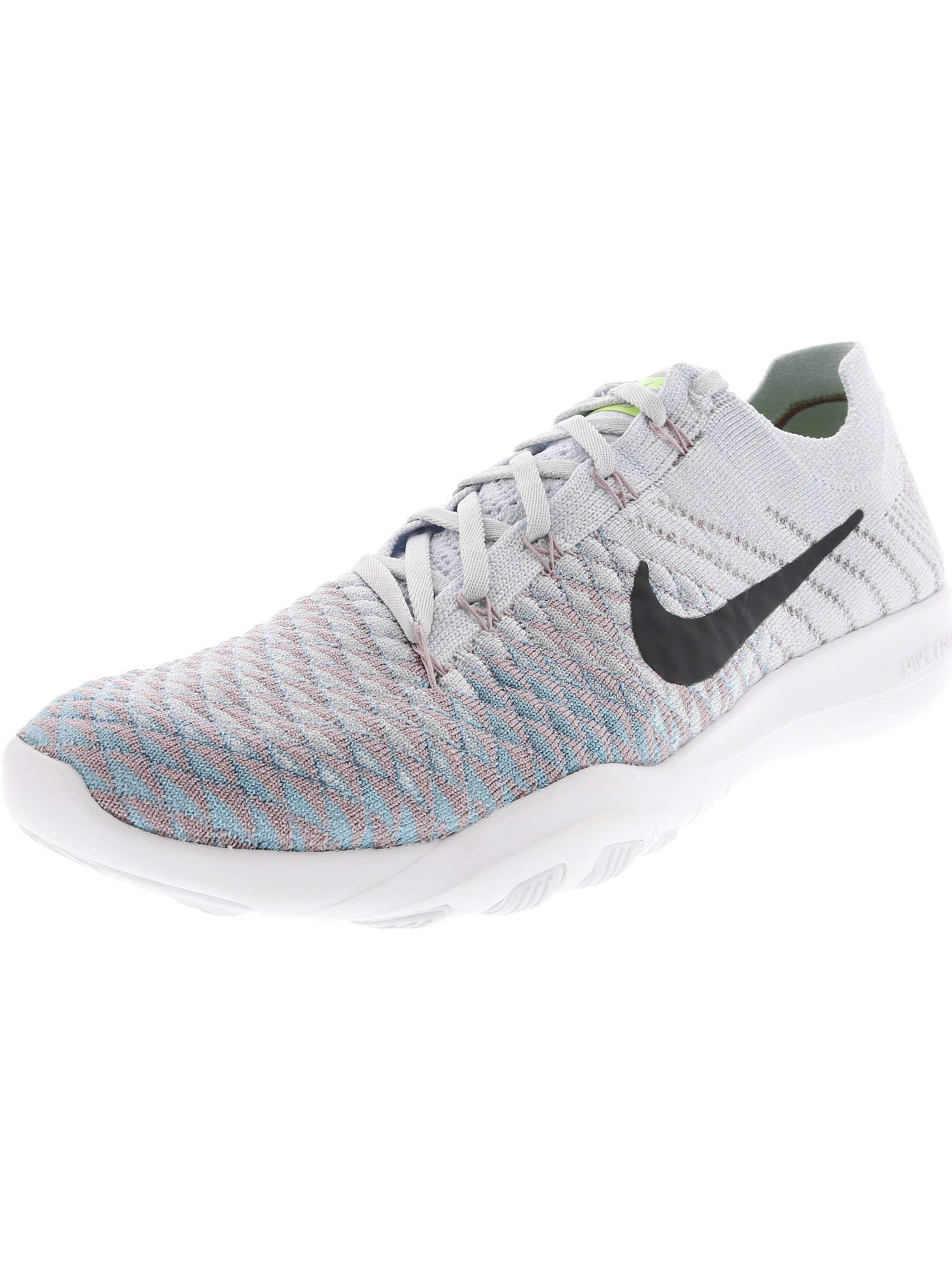 half off edbce 96455 Nike Women's Free Tr Flyknit 2 Pure Platinum/Anthracite Ankle-High Fabric  Cross Trainer Shoe - 7.5M