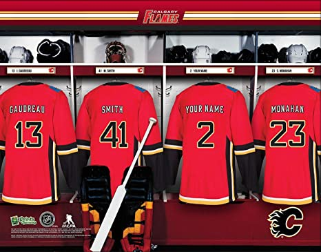 Amazon.com   Personalized Calgary Flames Wall Poster d5fbed63b