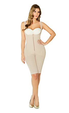 d3995ff4f1d12 DIANE   GEORDI 2397 Knee Length Powernet Shapewear for Women with ...