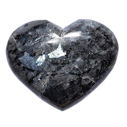 Amazon.com: Bolsillo de cristal de larvikita cargado con ...