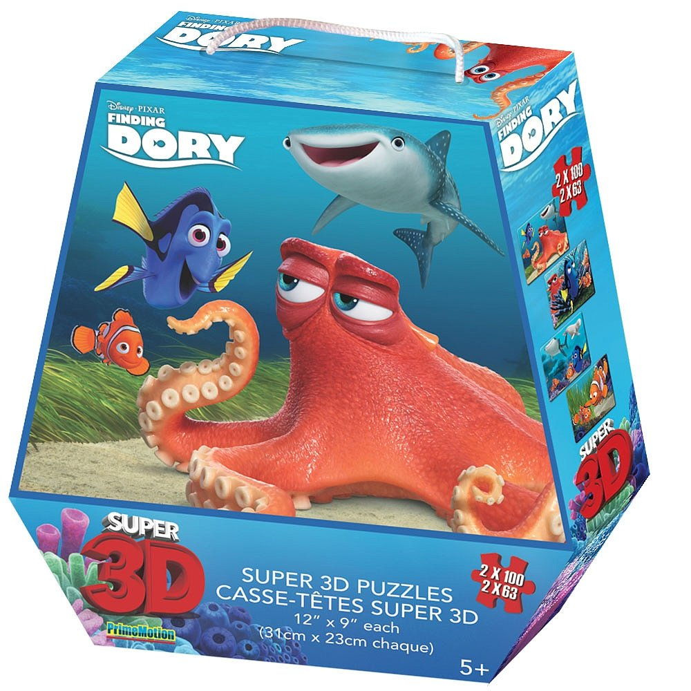 Finding Dory Super 3D Puzzle 4 pack PrimeMotion