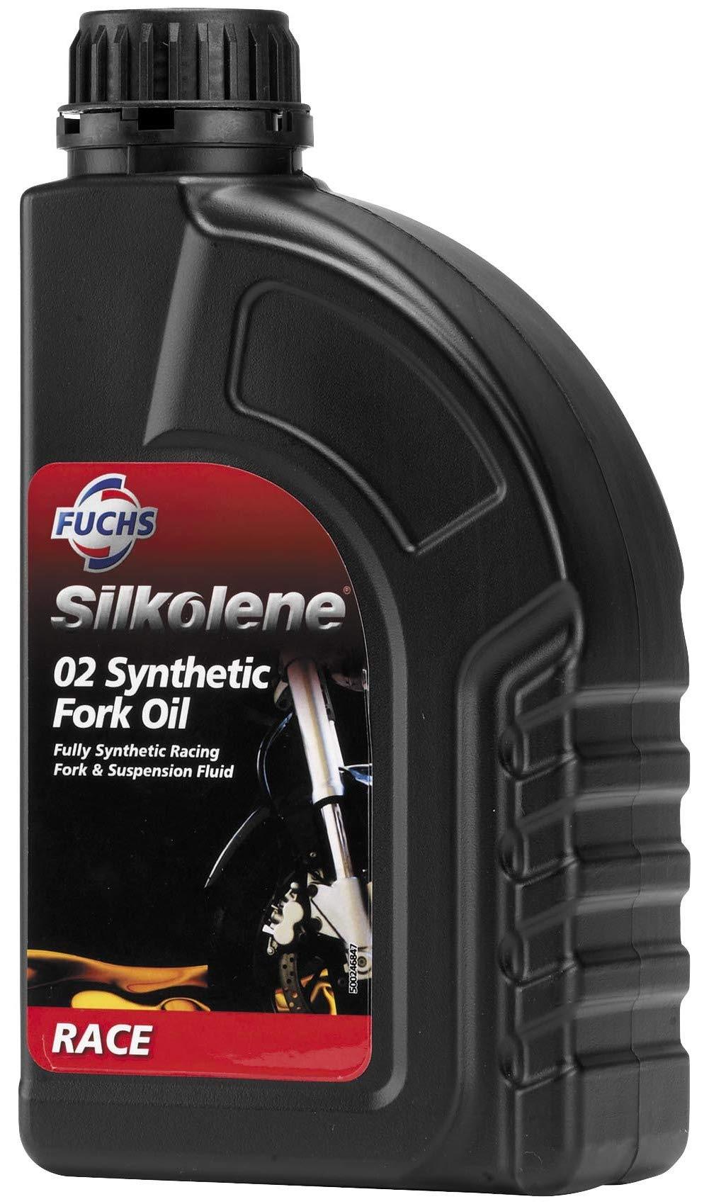 Silkolene Silk 02 Syn Fork Fluids 1Lt 600757588 by Silkolene