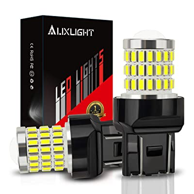 AUXLIGHT 7440 7441 7443 7444 T20 992 W21W LED Bulbs Xenon White, Ultra Bright 57-SMD LED Replacement for Back Up/Reverse Lights, Brake/Tail Lights, Turn Signal/Parking or Running Lights (Pack of 2): Automotive