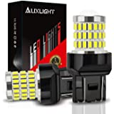 AUXLIGHT 7440 7441 7443 7444 T20 992 W21W LED Bulbs Xenon White, Ultra Bright 57-SMD LED Replacement for Back Up/Reverse…