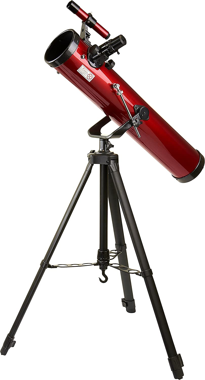 Carson Red Planet 35-78x76mm Newtonian Reflector Telescope (RP-100) Carson Optical