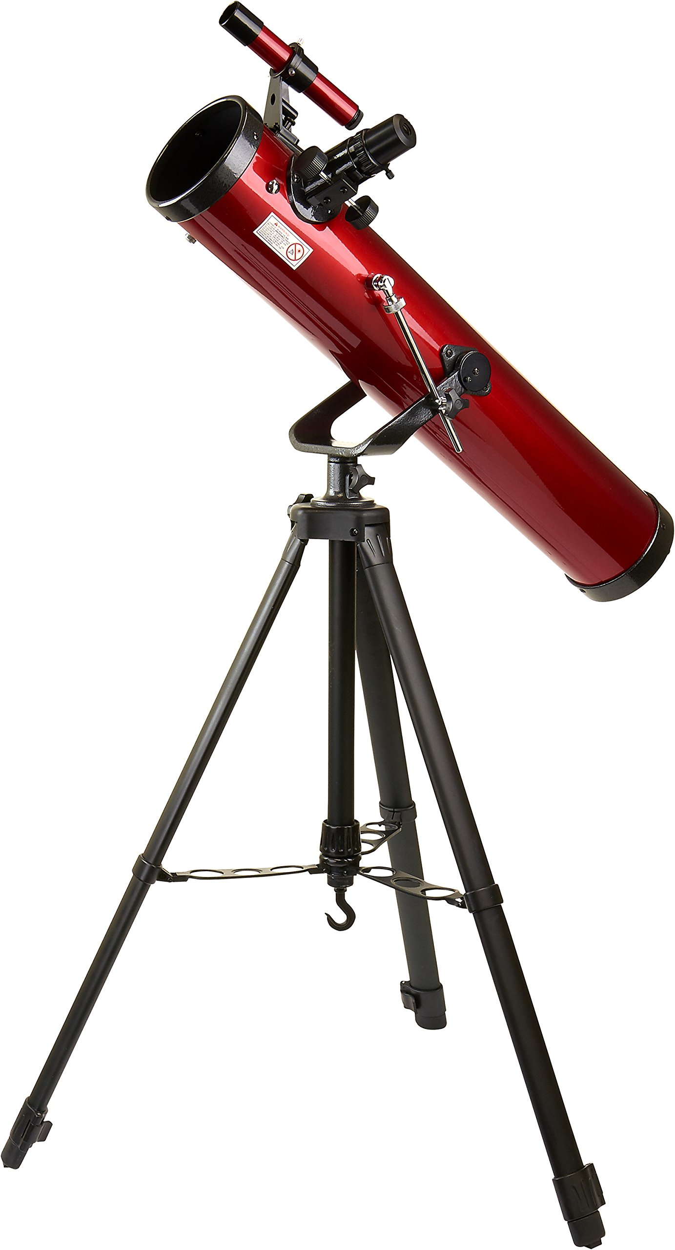 Carson Red Planet 35-78x76mm Newtonian Reflector Telescope (RP-100) by Carson