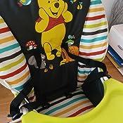 Grand Panier Hauck Noir Plateau avec Approfondissement pour Boissons Utilisable /à Partir de 6 mois Pooh Tidy Time Pliable Chaise Haute Mac Baby Deluxe Disney