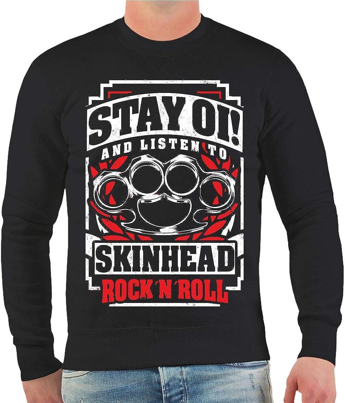 Life Is Pain OI Skinhead Rockn Roll - Sudadera para Hombre y Mujer, Talla S - 10XL Negro XXXXL: Amazon.es: Ropa y accesorios