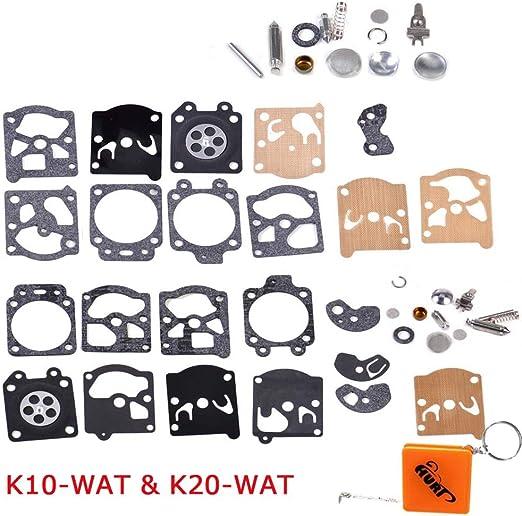 Huri Vergaser Reparatursatz Kit Membrane Dichtung Passend Für Walbro K10 Wat K20 Wat Wa Wt Series Auto