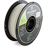 HATCHBOX 3D PLA-1KG1.75-GLOW PLA 3D Printer Filament, Dimensional Accuracy +/- 0.05 mm, 1 kg Spool, 1.75 mm, Glow in the Dark