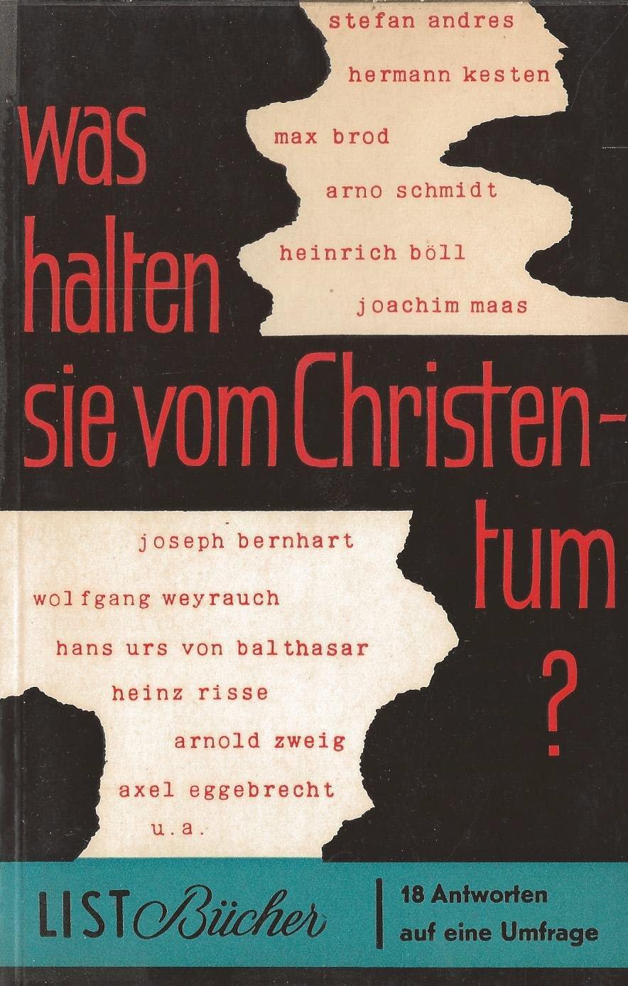 Was halten Sie vom Christentum?