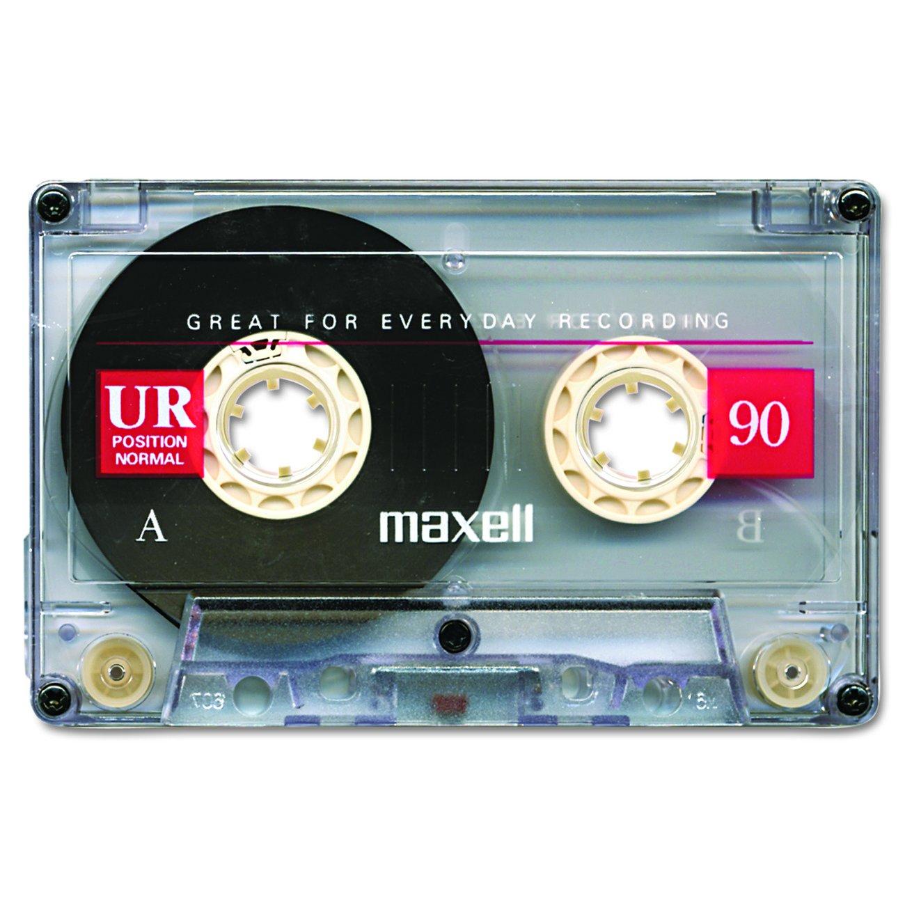 maxell normal bias audio cassette tape 90 minute pl1 2582 ur90 nib ebay. Black Bedroom Furniture Sets. Home Design Ideas