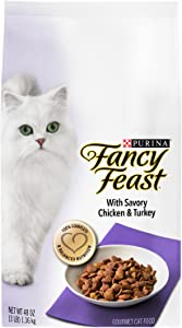 Purina Fancy Feast With Savory Chicken & Turkey Cat Food - (2) 3 Lb. Bag