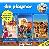 Die Playmos - Die Große Römer und Ägypter-Box, Folge 5, 18 und 52; 3-Original-Hörspiele