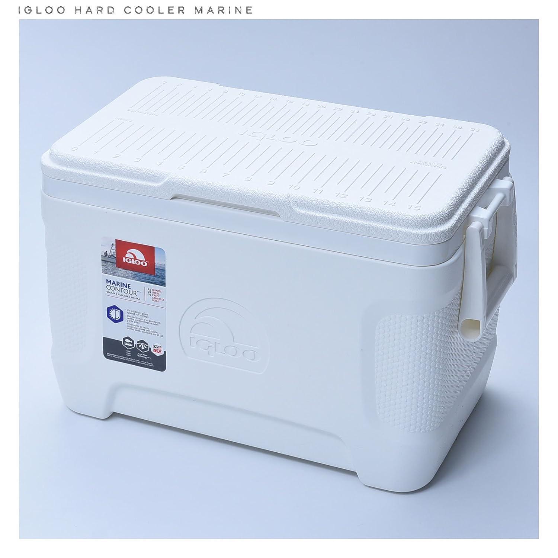 Igloo Marine Contorno Cooler Color Blanco 25/Quart 23/L