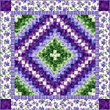 Catalina Ultra Violet Mesmerizing Quilt Kit by Maywood Studio