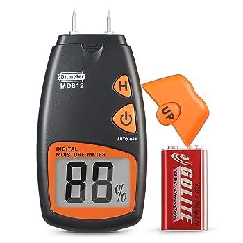 Dr. Meter MD812 Digital Moisture Meter