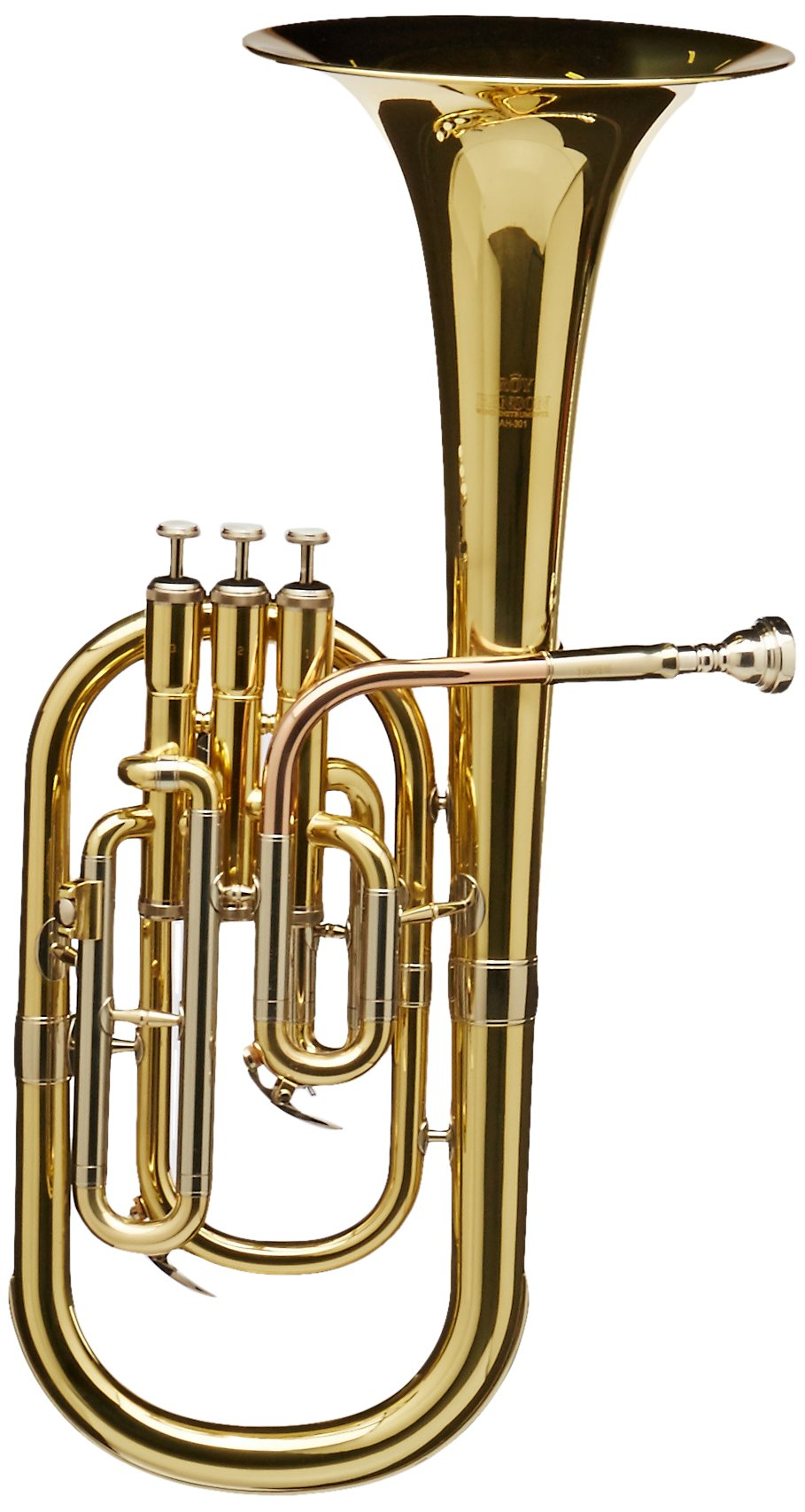 Roy Benson MOD.AH-301 EB Lacquered Finish Altohorn with Light Weight Form Shaped Case