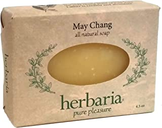 product image for Herbaria May Chang Handcrafted All-Natural Soap with Essential Oils. 4.5 oz Bar. Free Shipping $49 Orders. Enjoy 60 More Skin-Friendly Varieties.
