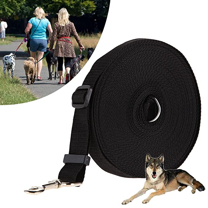 15m 20m 30m 50m Basic Nylon 10m Leashes For Dog Long Leashes Pet Walking Training Leash Cats Dogs Harness Collar Lead Strap Belt Dog Collars & Leads Home & Garden
