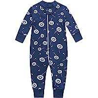 Bamboo Baby Footless Pajamas, Boys and Girls Zip up Sleep and Play, Long-Sleeve Coveralls