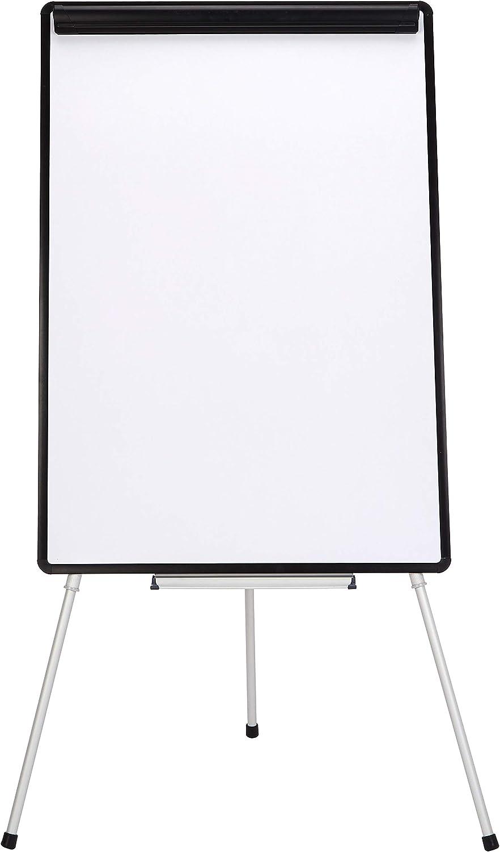AmazonBasics Dry Erase Presentation White Board Easel, 29 x 42 Inch, Tripod, Silver