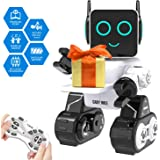 Robot Toy for Kids Smart RC Robot for Kids with Touch and Sound Control Robotics Intelligent Programmable Robot with…