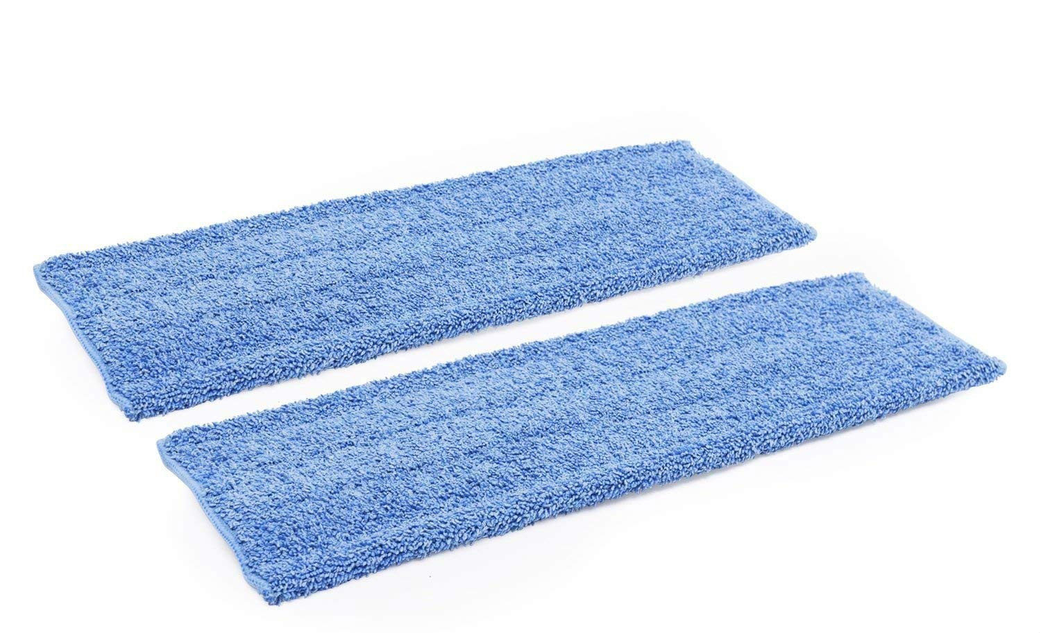18' Premium Microfiber Wet Mop Pad - 2 Pack | Use with our 18' Professional Microfiber Mop Microfiber Wholesale PMWM20A