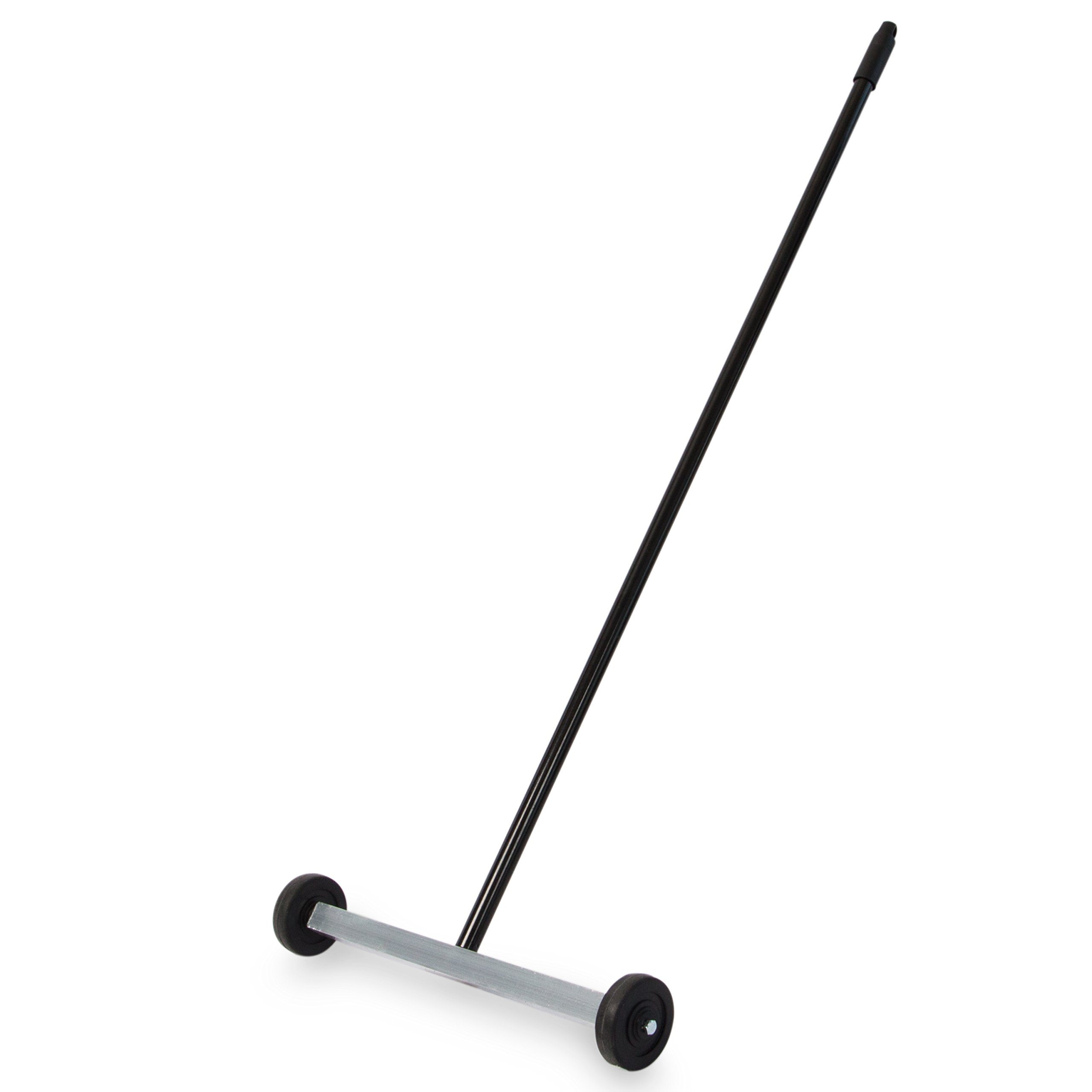 "Master Magnetics - Magnetic Sweeper with Wheels, 14.5"" - Pick up Nails, Needles, Screws and More 07263"