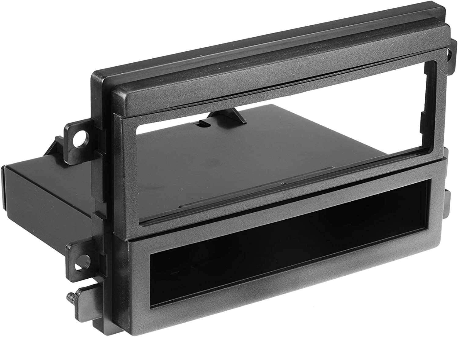 Radio Replacement Dash Mount Install Kit Single-DIN w//Pocket for Ford