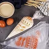 100 pcs in set plastic piping bag,food grade