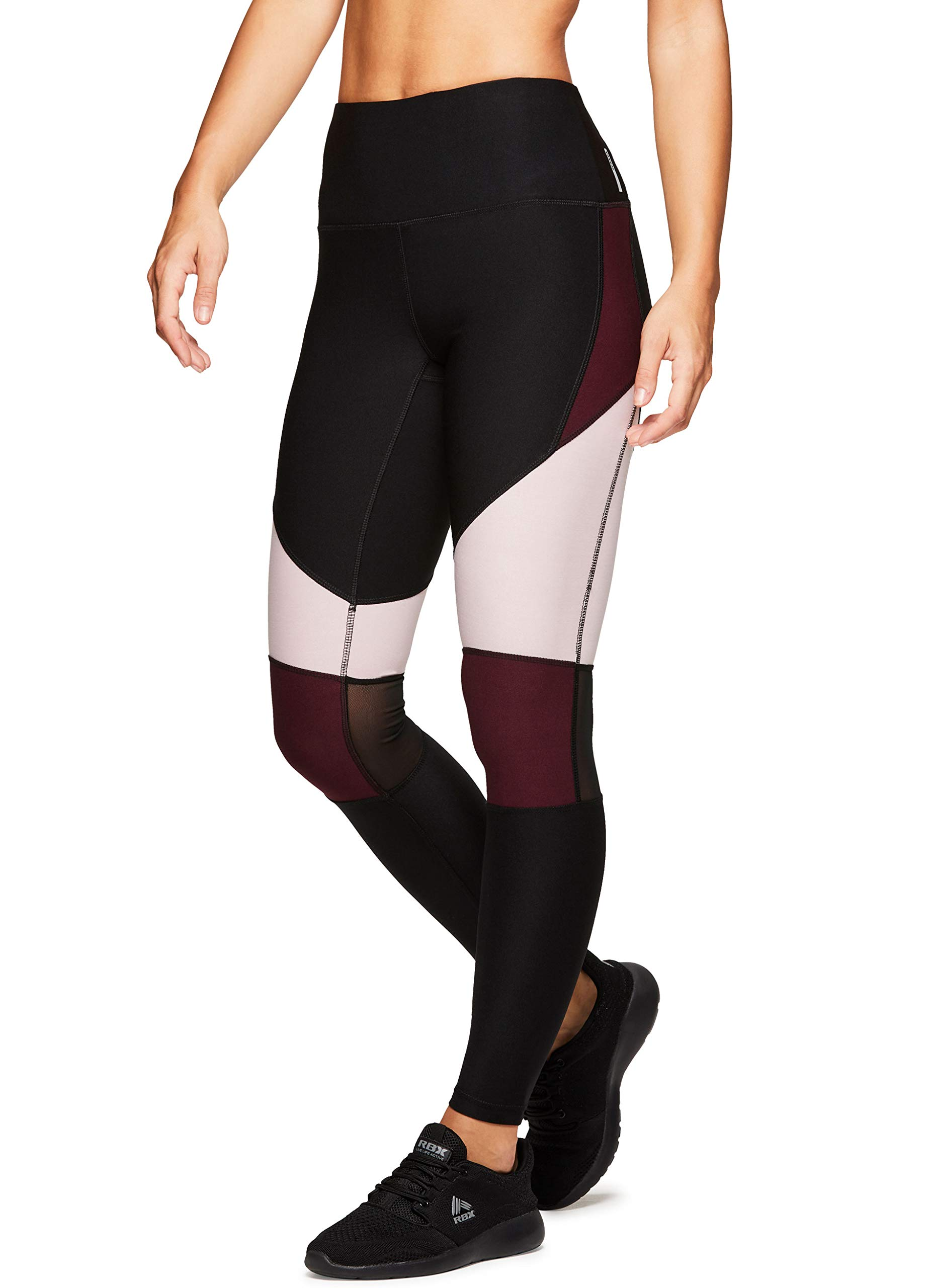 RBX Active Women's Mesh Workout Yoga Fashion Leggings
