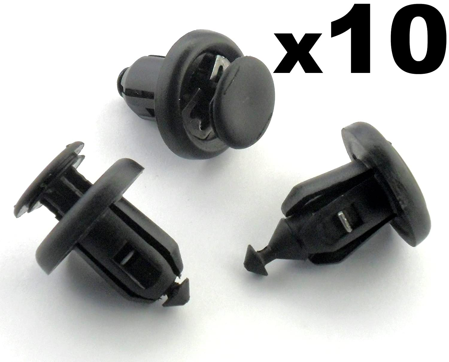 Wheel Arch Lining Undertray 10x Trim Clips Bumper