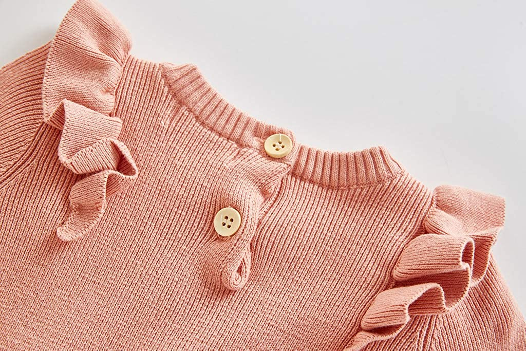 sunnymi M/äntel mit Kapuze f/ür Baby Jungen und M/ädchen,0-24 Monate Kleinkind Baby M/ädchen Jungen Winter Strampler Warm Gestrickte Pullover M/äntel Outfits Kinder Kleidung Outfits