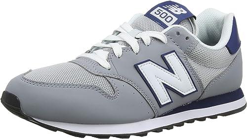 New Balance Herren 500v1 Sneaker, Stahl
