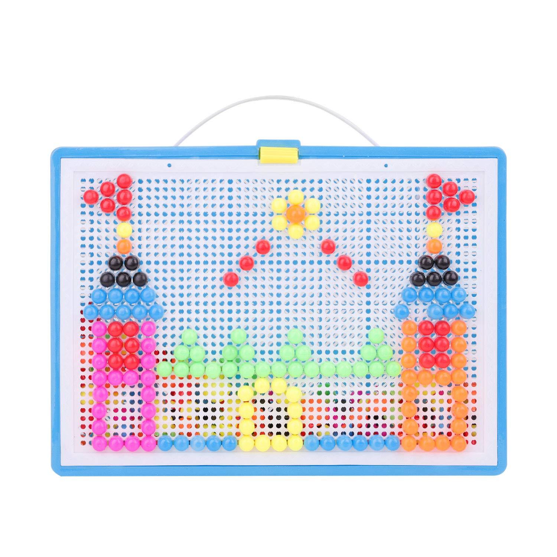 Jouet de Puzzle Loisirs Creatifs Multicolore B/éb/é Mosaique Puzzle 296 Pcs Jouets dEveil 1er Age Jeux//Bloc de Construction pour Enfant Filles Gar/çons 3-6 Ans Cadeau de No/ël//Anniversaire