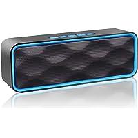 Aigoss Altavoz Bluetooth Portátil Inalámbrico Estereo Exteriores con Audio HD Altavoz de Doble Controlador Integrado…