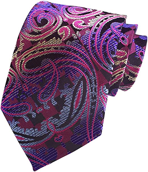 Fansi - Corbata de poliéster para Hombre, diseño clásico, Color ...